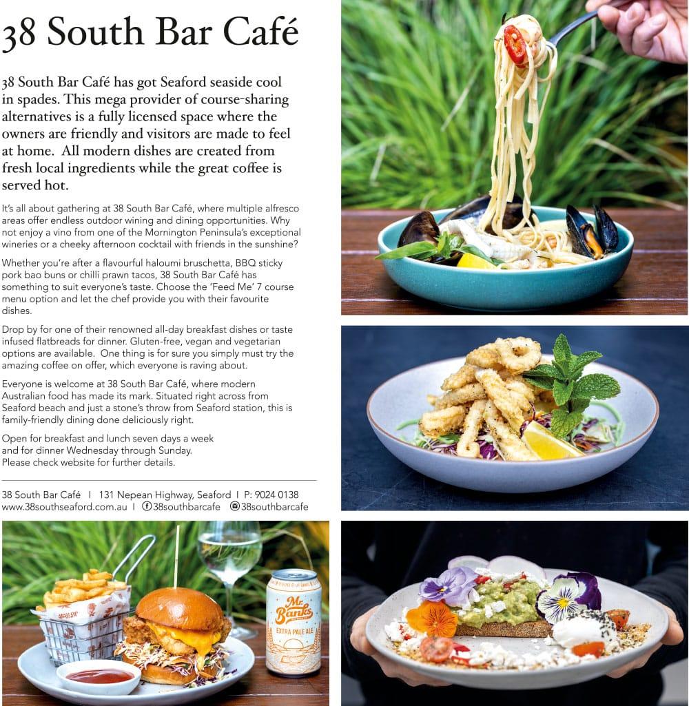 38 South Bar Cafe
