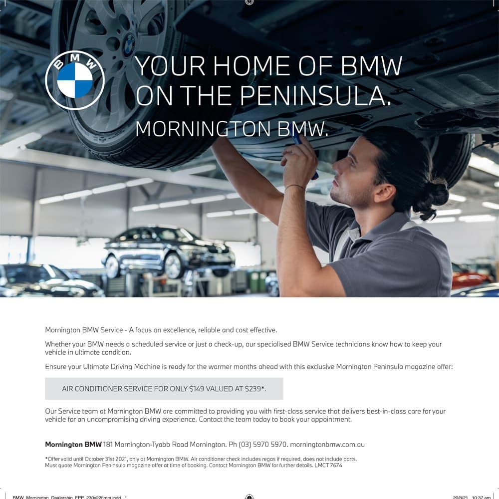 BMW Mornington