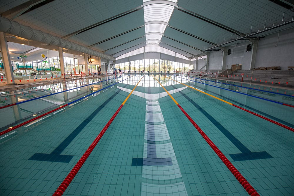 Everything's going swimmingly at Yawa Aquatic Centre