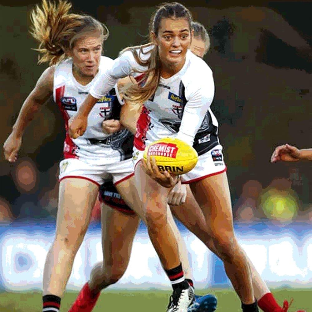 Kicking goals for women's football