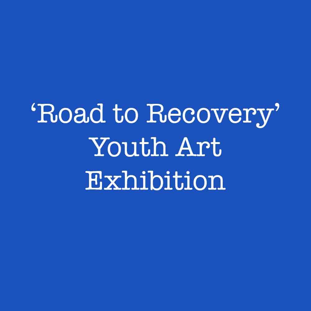 Youngsters' road to recovery through art