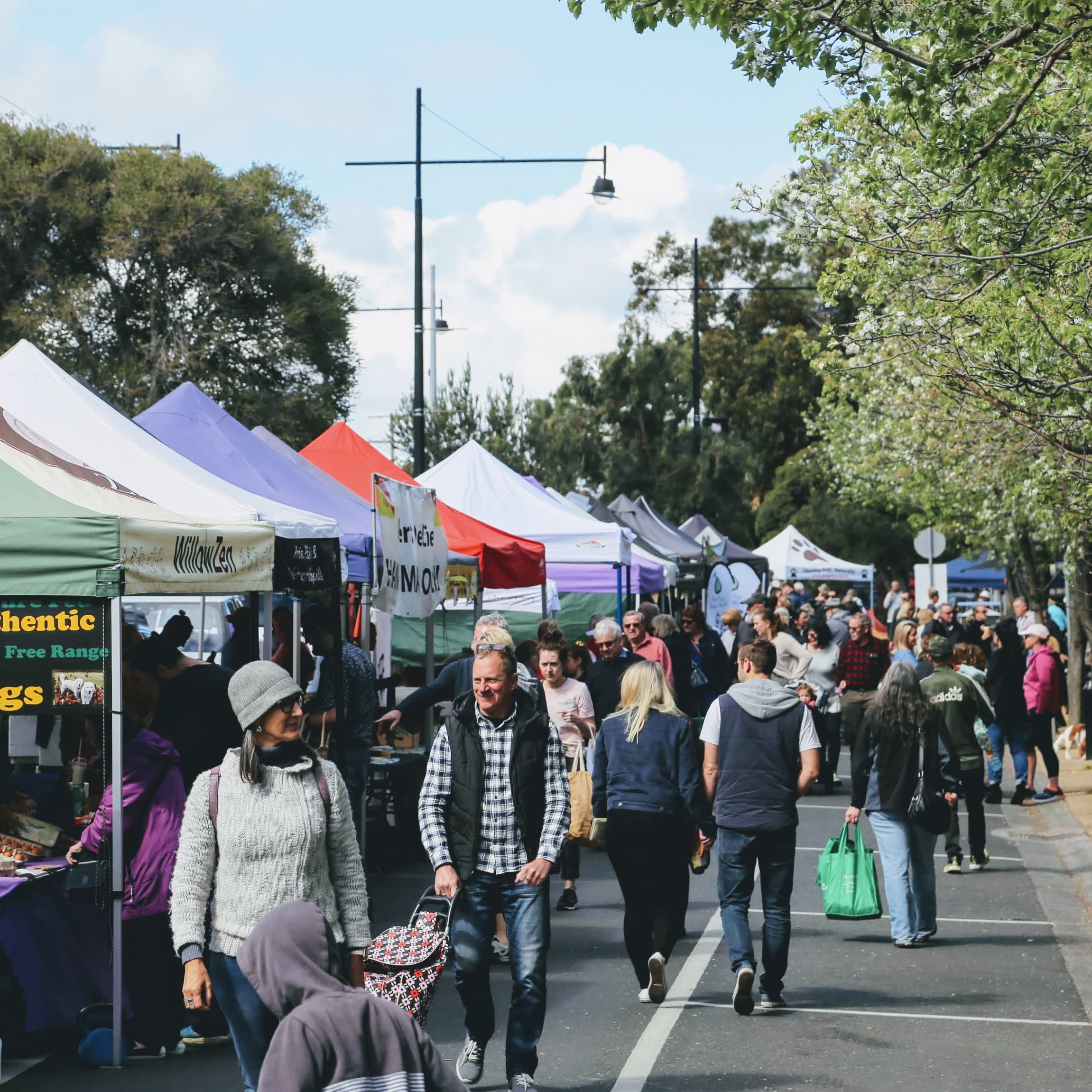 Farmers market makes a welcome return